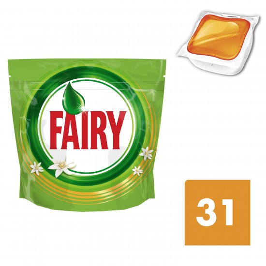 FAIRY ALL in ONE ΤΑΜΠΛΕΤΕΣ 31τεμ. Πορτοκάλι